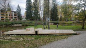 Ankkapuiston terassipaalutukset