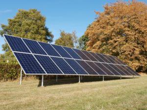 solar screw piles